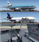 P3d FSX McDonnell Douglas DC-10-30 5 livery pack 1