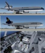 P3d FSX McDonnell Douglas DC-10-30 5 livery pack 2
