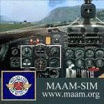 FS2004/FS2002                     Douglas DC-3 MAAM-SIM Panel Modifications