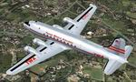FSX/FS2004                   Douglas DC-4 TWA Textures only