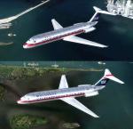 P3D4.5 + McDonnell Douglas DC-9-30 pack 1