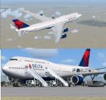 Boeing 747-8i Delta Delux Package