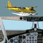 FS2004                   De Havilland DHC6-300 Amphibian C-FOPI.
