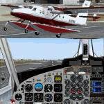 FS2004                   DeHavilland DHC6-300 Twin Otter.