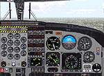 FS2000                   Panel -- DHC6 Twin Otter first officer panel