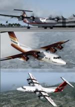 FSX/P3D de Havilland Canada DHC-7 Pack 1