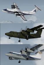 FSX/P3D de Havilland Canada DHC-7 Pack 2