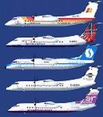 FSX                   De Havilland DHC8-Q311 European Quintet Package