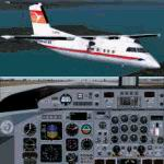 FS2004                   Dehavilland Dash 8-Q102 Provincial Airlines Package,