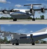 FSX/P3D 3/4 DeHavilland DHC-7 Spantax package