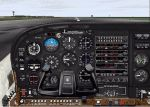 DreamFleet                     Cessna 182RG panel