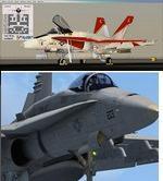 FSX/P3D Boeing F/A - 18C Hornet Package v18.3