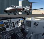 FSX/P3D 3/4 Embraer EMB-120 Comair, Palmeto Express and Skywest triple package
