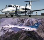 FSX/P3D 3/4 Embraer EMB-120 Airjet and Swiftair twin package