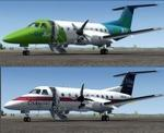 FSX/P3D 3/4 Embraer EMB-120 GoAir Citylink and US Air Express twin package