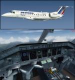 FSX/P3D Embraer ERJ-135 FSX Pack 1