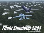 FS2004                     F-14 / Boeing 747 Splashscreen. .