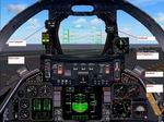 FS2004                   F-14D Panel with integrated Aircraft Carrier catapult and Arresting                   gear gauges