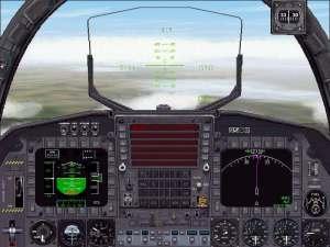 FS2000                     Panel-McDonnell Douglas F-15 Eagle.