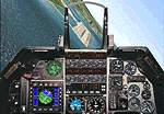 FS2000                   General Dynamics F-16A photoreal panel