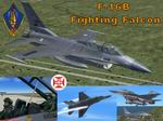 FS2004                   Lockheed Martin F-16B Fighting Falcon FAP
