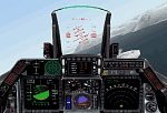 FS2000                     panel - USAF F-16 Falcon Fighter
