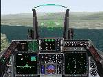 FS2000                   panel - USAF F-16 Falcon Fighter Version 2