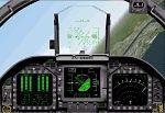 FS2000                   panel - Boeing F/A-18E Hornet