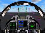 FS2004                   F/A-18c Panel with integrated Aircraft Carrier catapult and                   Arresting gear gauges