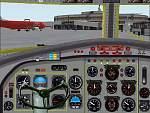 FS2000                   Fokker F27 panel