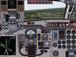 FS2000                     Fokker F28 panel