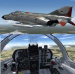 P3D/FSX McDonnell Douglas F-4B Phantom II German Air Force (Luftwaffe) Package