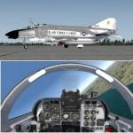 P3D/FSX McDonnell Douglas F-4B Phantom II US Marines Package