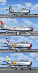 North American F-86F Sabre USAF Package