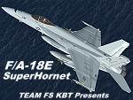 FS2004                     Boeing F/A 18E Super Hornet.