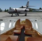 FSX/P3D > v4 Dassault Falcon 50 package