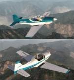 FSX/P3D Falco F8L twin Package