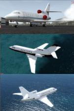 FSX/P3D Dassault Falcon 50 package 2