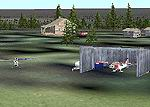 FS2002                   Scenery - Farewell Lake Lodge, Alaska.