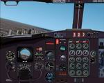 Boeing                   727 panel for FS2002.