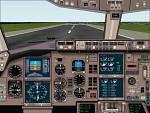 FS2000                   Boeing 767-300 panel!