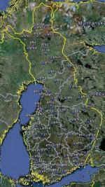 FSX Finland Airfield Locator