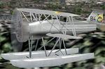FS2004/FS2002                   Curtiss Hawk F-11 C-2 Floats Model, Colombian Air Force