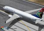 FS2004                   Boeing 737-800 Winglet Model South African Airways