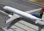 FS2004                   Boeing 737-800 Winglet Model South African Airways