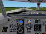 Fokker                   70 -100 Panel for FS2002/FS2000