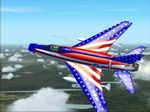 FS2004                   F100D Super Saber Stars & Stripes.