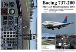 FS2004                   Manual/Checklist Boeing 737-200.