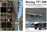 FS2004                   Manual/Checklist Boeing 757-200