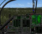 FSX F-111 PIG HUD PROJECT-Navigation/Situation awareness cockpit.